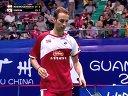 2013年世界羽毛球锦标赛 鲍伊 摩根森[DEN] VS [KOR]金基正 金沙朗