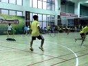 """20130915""""广发银行杯""""男双2-恒乐羽毛球俱乐部"""