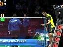 2013年丹麦羽毛球顶级赛4分之1决赛视频 傅海峰洪炜