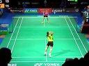 2013年丹麦羽毛球顶级赛4分之1决赛视频 王仪涵