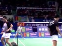 2013年世界羽毛球锦标赛男双小组赛 邦德/彼德森VS达苏基/古纳万