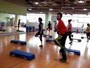 上海舒适堡教练kevin高级踏板操step