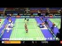 傅海峰洪炜VS李龙大柳延星 2013法国超级赛男双 羽毛球知识教学网