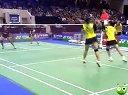 【直播】2013法国羽毛球公开赛 半决赛 女双比赛 羽球吧