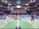 田儿贤一vs李宗伟 2013法国公开赛半决赛 羽毛球知识教学网