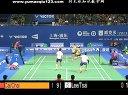 李胜木蔡佳欣VS蔡赟柴飚 羽毛球知识教学网提供 2013年中国羽毛球公开赛男双
