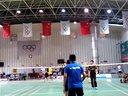20131201胜利杯羽毛球公开赛,随想和权pk市政集团队