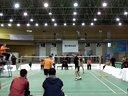 冯亮/韦汉宇VS何阳/阿伟 男双 2013精彩羽共羽毛球团体赛