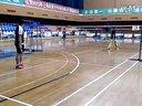 上海市青少年羽毛球公开赛第一轮第一局(负)
