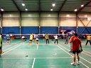 2014年2月27日大本营羽毛球会让分赛