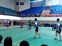 西北工业大学羽毛球男双比赛1