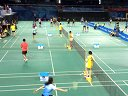 2014年北京羽毛球高校赛男单半决赛宋宗耀VS廖戈 第二局