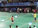 2014首都羽毛球高校赛 甲A男单决赛 宋宗耀VS杨霖飞