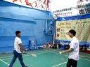 2014-05-18 赞美组活动之打羽毛球