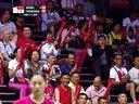 王适娴VS高桥沙也加 2014尤伯杯决赛中国VS日本 羽毛球知识教学网