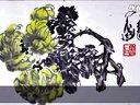 第034集-鲁石【赵裕详-藏家点评-中华艺术平台推荐国画家-大写意花鸟画大家-当代花鸟画大家鲁石-全球艺术家编码-989】作品点