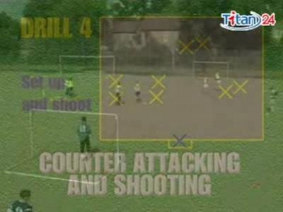 英国足球教学视频之防守反击