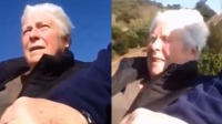 奔溃!老奶奶挑战坐过山车