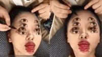 泰化妆师打造超惊悚妆容