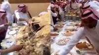 沙特皇室奢靡晚餐狂拉仇恨!