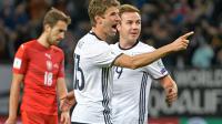 穆勒2球德国3-0完胜捷克