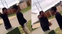 两黑人小孩吵架Rap天赋爆表