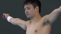 男子10米台邱波夺冠