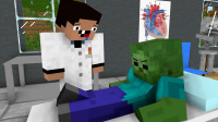 MC动画,《菜鸟医生》EP1,僵尸的腿怎么看起来怪怪的?