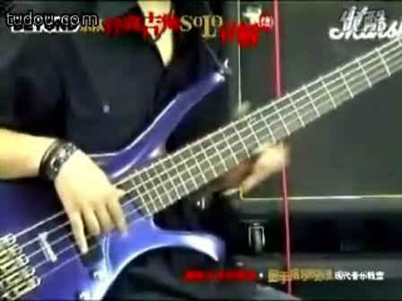 唱会 冷雨夜 贝斯BASS SOLO-冷雨夜吉他谱 gtp谱,bass,solo