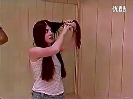 美女自剪长发 C 搜库