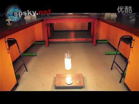 化学小实验:用乙炔来炸飞食品罐