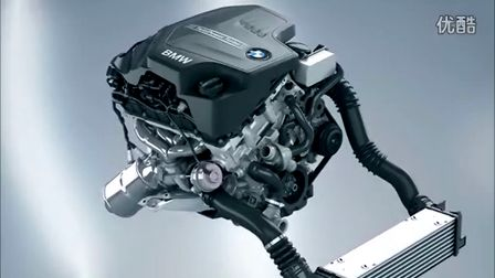 BMW four cylinder gasoline engine with Twin Power Turbo