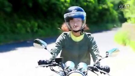 日本YAMAHA SR400廣告 一個很清新的摩托車廣告