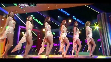 杨晃韩国性感美女组合dal★shabet最新热舞
