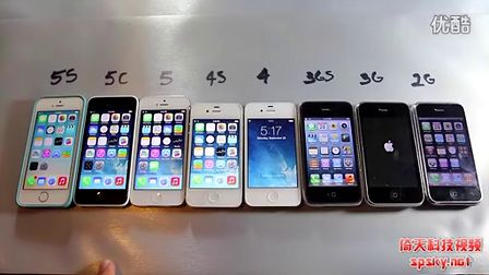 iOS7竟不敌初代iPhone?8款iPhone速度对决