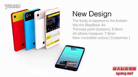 4.6寸1080P屏幕 苹果iPhone Air概念机演示