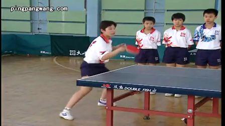 乒乓球直拍发球技术 –