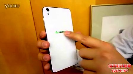 [国语解说]全玻璃手机联想S850抢先上手体验