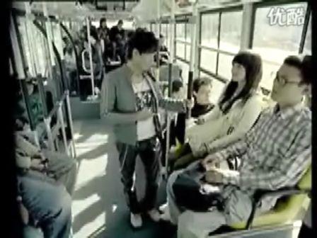 公车男女公然调情