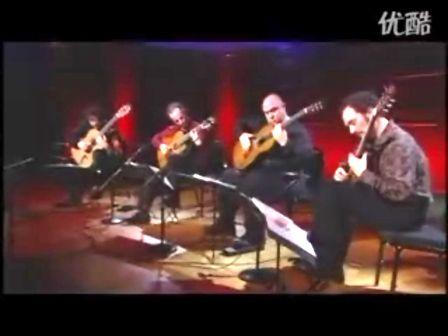 木吉他卡农4人合奏版