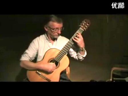 Per-Olov Kindgren 的canon in D 吉他独奏版