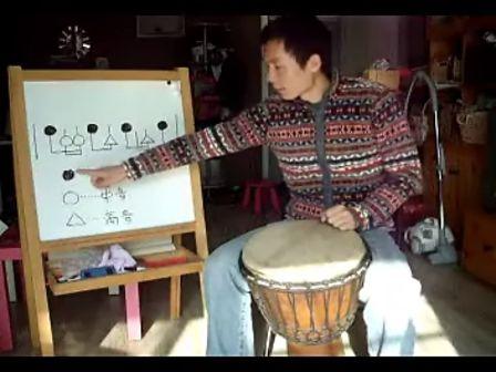 刘雍非洲手鼓教学 认识鼓谱