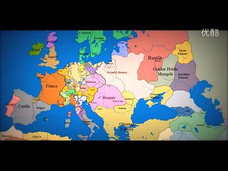 欧洲地图历史变更