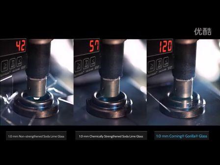 让你瞠目结舌!视频展示康宁大猩猩2玻璃的坚韧性