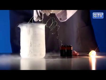 有趣的超導實驗:液氮vs燈泡
