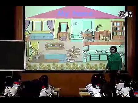 义务教科书PEP四年级英语上Unit 4 My Home_let's learn PartA动画flash