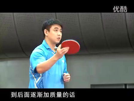 皓令天下王皓乒乓球教学1 握拍