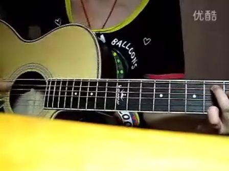 下雨天吉他谱 图片谱,原版谱,和弦分解,弹唱 南拳妈妈 -下雨天