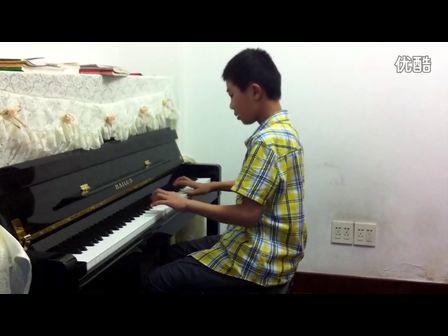 康定情歌 钢琴 曲 –