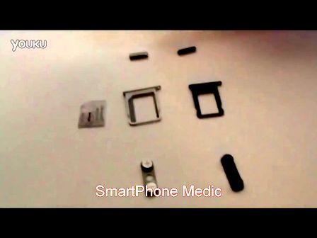 iPhone5 Nano-SIM卡槽等零件与4S视频对比